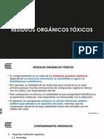 Residuos orgánicos tóxicos