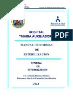 Manual de Normas de Esterilizacion 2012 -22 Oct.