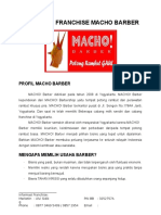 Proposal Usaha Kerjasama Bisnis Franchise Waralaba Macho Barber 2013