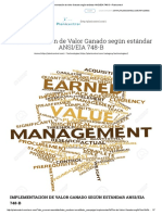 Implementación de Valor Ganado Según Estándar ANSI_EIA 748-B – Planicontrol
