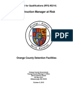 Rfq 5214 Cmar Detention Facility