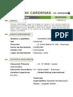 Curriculum Roxana Nuevo