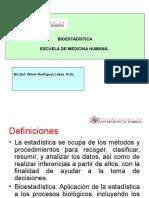 1_ Clase.  Introducción a la Bioestadística.ppt