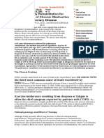 Pulmonary Rehabilitation for Management of Chronic Obstructive Pulmonary Disease.doc