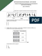 Prueba de Competencias Matematicas (Fase de Validación)