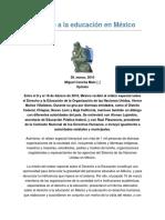 Derechos Humanos y La Educación en México