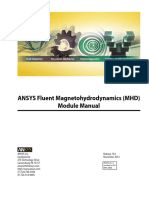 ANSYS Fluent Magnetohydrodynamics (MHD) Module Manual.pdf