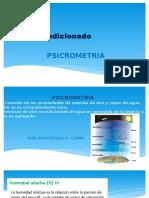 Aire Acondicionado - Psicrometria