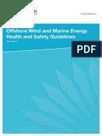 Offshore Marine HealthSafety Guidelines