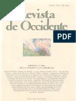 Revista de Occidente Núms. 33-34. Orwell y 1984. De la utopia a la libertad Extraordinario IX