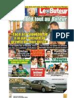 LE BUTEUR PDF du 25/07/2010