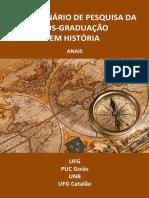 Anais VIII Seminário de Pesquisa da Pós-Graduação em História (2015)