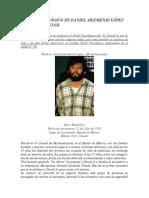 Perfil Psicológico de Daniel Arizmendi López