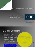 Fields of Philosophy