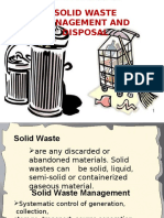 Solid Waste Management and Disposal v.2