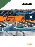 10887 Carlisle Industrial Power Transmission Belts Catalog
