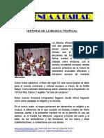Histori Adela Music a Tropical
