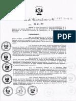 Directiva de Auditoria