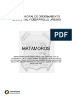 Plan Municipal Matamoros