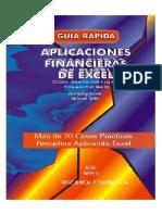 Guía Rápida Aplicaciones Financieras de Excel Con Matemáticas Financieras