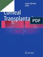 Corneal Transplantation Jesper Hjortdal