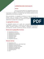 DOCUMENTACION SOCIALES