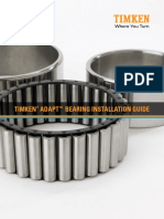 Timken ADAPT Bearing Installation Guide