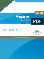 Manual de Productos 2016