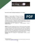 15 Chiarello Despersonalizacao-Adorno Limiar Vol-3 Nr-6 2-Sem-2016