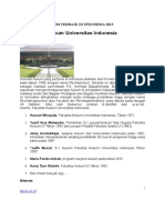 10 Fakultas Hukum Terbaik Di Indonesia 2013