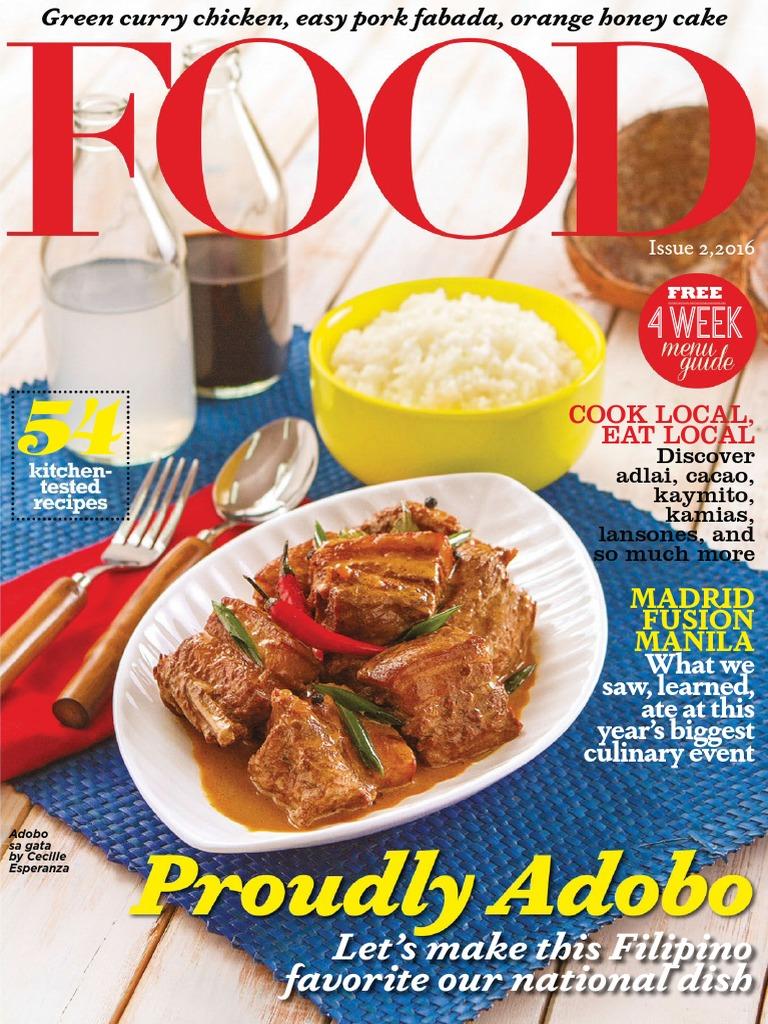 Food philippines issue 2 2016pdf japanese cuisine salad forumfinder Choice Image
