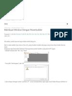 1. Membuat Window Dengan Powerbuilder