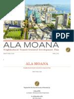 Ala Moana TOD Plan Report
