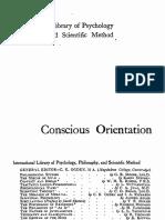 Conscious Orientation