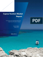 Cyprus Tourism Market Report AUGUST 2015