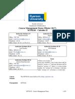 Course Management Form - MTH240 W17
