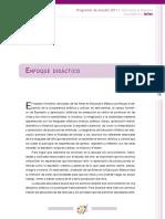 4 y 5 - Enfoque Didactico y Organizacion de Los Aprendizajes