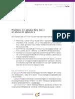 6 y 7 - Propositos Del Estudio de La Danza y Organizacion de Los Aprendizajes