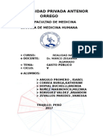 Realidad Nacional Qué Es El Sector Salud (1)