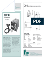 CD700 Welder Brochure