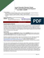 MARKETING6800- Prof Selling and Sales Mgmt Spring 2016 Syllabus