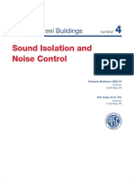 Sound Insulation and Noise Control