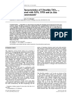 Surface and Interface Analysis Volume 25 Issue 2 1997 [Doi 10.1002_(Sici)1096-9918(199702)25!2!76--Aid-sia202-3.0.Co;2-5] Walton, R. M.; Gland, J. L.; Schwank, J. W. -- Gas Sensi