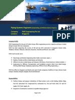 PAPE Advertisement PipingSystemsEngineers ShipbuildingandOffshoreMarineProjects