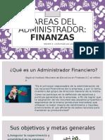 Tareas Del Administrador Financiero - Expo