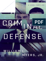A Criminal Defense - William L Myers Jr