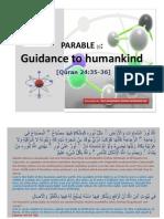 Parable [1] )-[Qur'aan 24:35-36]