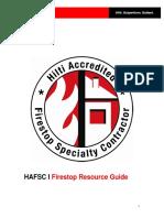 Firestop Resource Guide