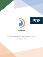 II Examen Internacional de Obstetricia
