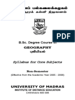 BSc Geography